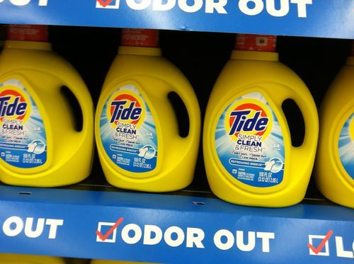 Tide yellow bottle for 50cents deal! New deal! - Prudent Lives